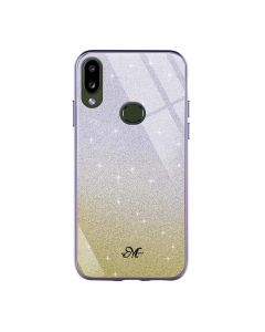 Чехол Swarovski Case для Samsung A10s-2019/A107 Violet/Yellow