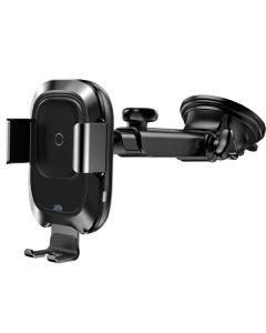 Автодержатель для телефона Wireless Baseus Smart Vehicle (Air Outlet Type) Black