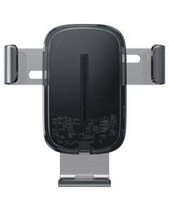 Автодержатель для телефона Wireless Baseus Wireless Charger Gravity Car Mount Black