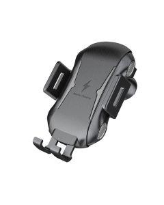 Автодержатель для телефона Wireless Fast Charger Floveme 10W Black