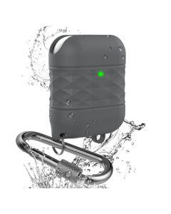 Футляр для наушников AirPods/AirPods 2 Ahastyle Water Resistant Grey