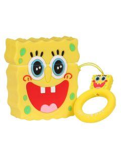 Футляр для наушников AirPods/AirPods 2 Sponge Bob Series Yellow