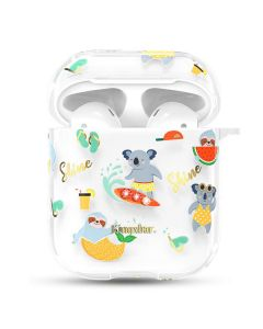 Футляр для наушников AirPods Kingxbar Adorable Series with Swarovski Crystals Koala