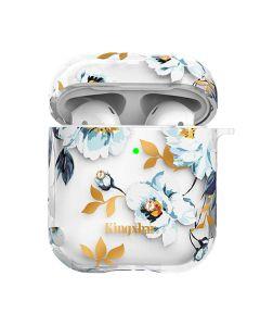 Футляр для наушников AirPods Kingxbar Fresh Series with Swarovski Crystals Gardenia