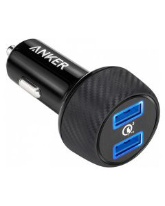 АЗУ Anker PowerDrive- 2 V3 Quick Charge 39W (A2228H11) Black