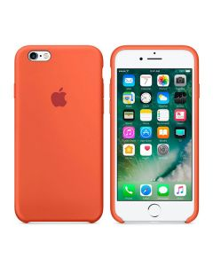 Чехол Soft Touch для Apple iPhone 6/6S Orange