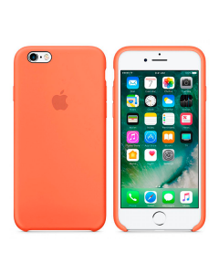 Чехол Soft Touch для Apple iPhone 6/6S Apricot Orange
