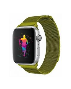 Ремешок для Apple Watch 42mm/44mm Milanese Loop Watch Band Green