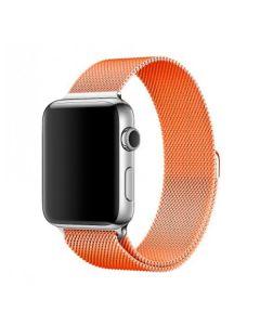Ремешок для Apple Watch 42mm/44mm Milanese Loop Watch Band Orange
