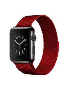 Ремешок для Apple Watch 42mm/44mm Milanese Loop Watch Band Red