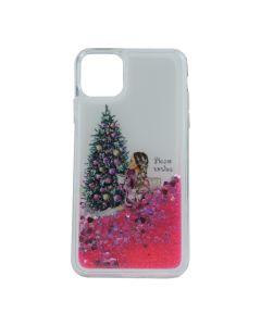 Чехол Girls Christmas Aqua Series для iPhone 11 Pro Max №4