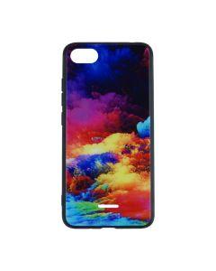 Silicon Mirror Case для Xiaomi Redmi 6a Art Mix №1