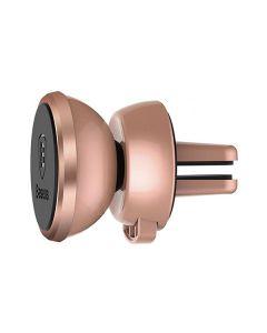 Автодержатель для телефона магнитный Baseus 360 Rose Gold
