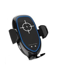 Автодержатель для телефона Wireless WUW W20 Qi 10W Black