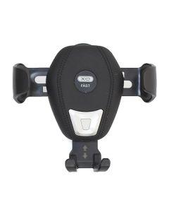Автодержатель для телефона Wireless XO WX009 Qi 10W Black