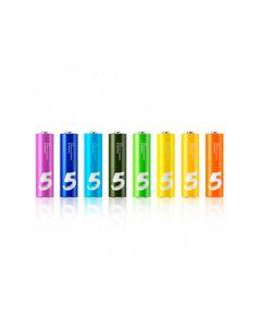 Xiaomi Alkaline Battery ZI5 Rainbow LR06 AA