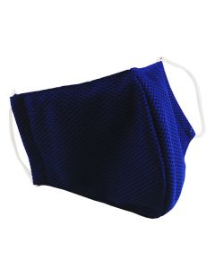 Многоразовая защитная маска для лица Sport синяя (размер L)