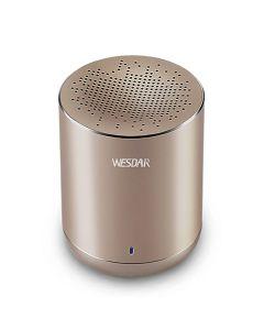 Портативная Bluetooth колонка Wesdar K23 Gold