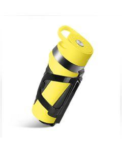 Портативная Bluetooth колонка Wesdar K5 Yellow