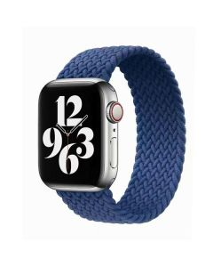 Ремешок для Apple Watch 38mm/40mm Braided Solo Loop Atlantic Blue (L/150mm)