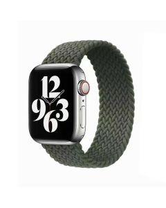 Ремешок для Apple Watch 42mm/44mm Braided Solo Loop Inverness Green (M/150mm)