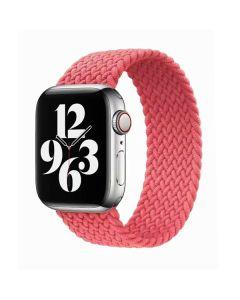 Ремешок для Apple Watch 38mm/40mm Braided Solo Loop Pink Punch (S/130mm)