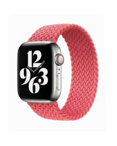 Ремешок для Apple Watch 42mm/44mm Braided Solo Loop Pink Punch (S/130mm)