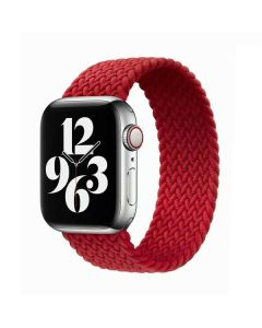 Ремешок для Apple Watch 42mm/44mm Braided Solo Loop Red (M/150mm)