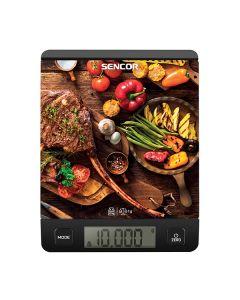 Весы кухонные электронные Sencor SKS 7001 BK