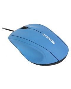 Проводная мышь Canyon CNE-CMS05BX Light Blue