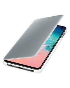 Чехол книжка Clear View Cover Samsung S10e EF-ZG970CWEGRU (White)