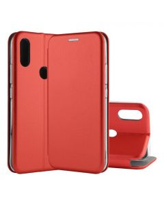 Чехол книжка Kira Slim Shell для Xiaomi Redmi 7 Red