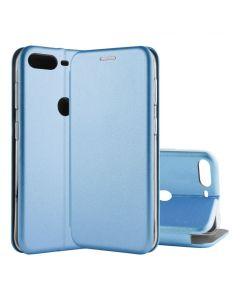 Чехол книжка Kira Slim Shell для Huawei Y7 2018 Blue