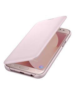 Чехол книжка Samsung J5 2017 EF-WJ530CPEGRU (Pink)