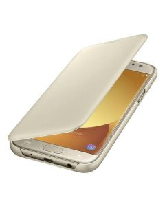 Чехол книжка Samsung J5 2017 EF-WJ530CFEGRU (Gold)