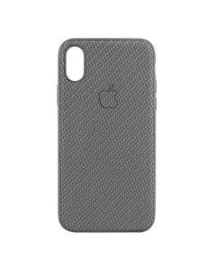 Чехол накладка Carbon для iPhone XS Max Grey
