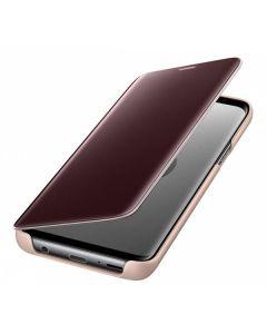 Чехол книжка Clear View Cover Samsung S9 EF-ZG960CFEGRU (Gold)