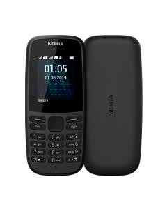 Nokia 105 Single Sim 2019 Black (16KIGB01A13)