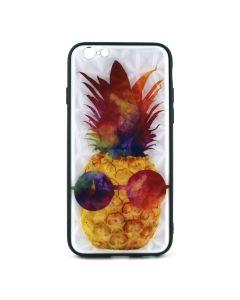 Чехол накладка Crazy Prism для iPhone 6/6S Pineapple