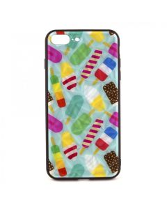 Чехол накладка Crazy Prism для iPhone 7 Plus/8 Plus Ice Cream