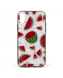 Чехол накладка Crazy Prism для iPhone X/XS Watermelon