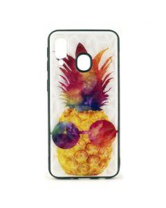 Чехол накладка Crazy Prism для Samsung A40-2019/A405 Pineapple