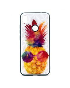 Чехол накладка Crazy Prism для Xiaomi Redmi Note 7/Note 7 Pro Pineapple