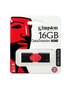 Флешка Kingston 32Gb DataTraveler 106 Black/Red USB 3.0
