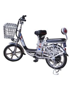 Электровелосипед MJ-LS-4 350W/48V8AH Silver