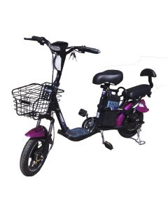 Электровелосипед MJ-LS-9 350W/48V8AH Pink
