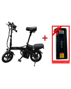 Электровелосипед G-Force Elite Black + дополнительный аккумулятор