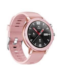 Смарт-часы Gelius Pro GP-SW005 (NEW Generation) (IP67) Pink/Gold