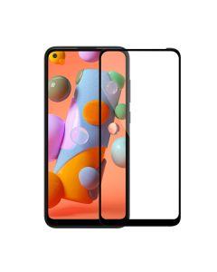 Защитное стекло для Samsung A11-2020/A115/M11-2020/M115 3D Black (тех.пак)