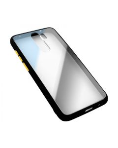 Чехол накладка Goospery Case для Xiaomi Redmi 7a Clear/Black/Yellow
